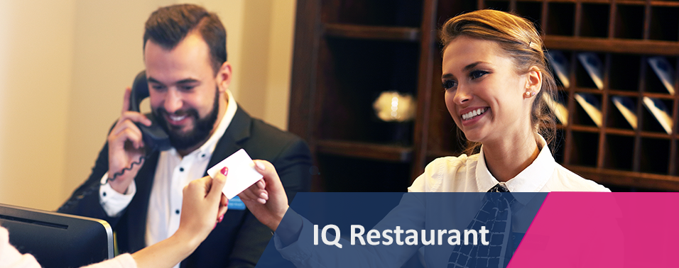 IQ RESTAURANT - IQ Retail Solutions