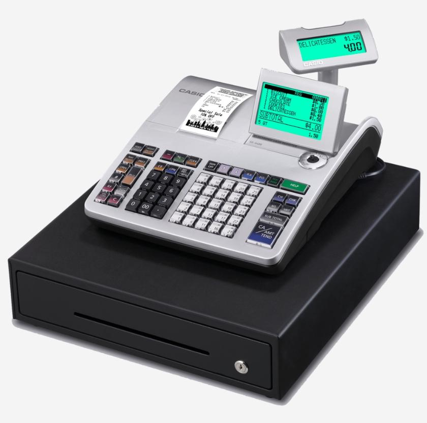 Casio SE-S400 Retail Cash Register