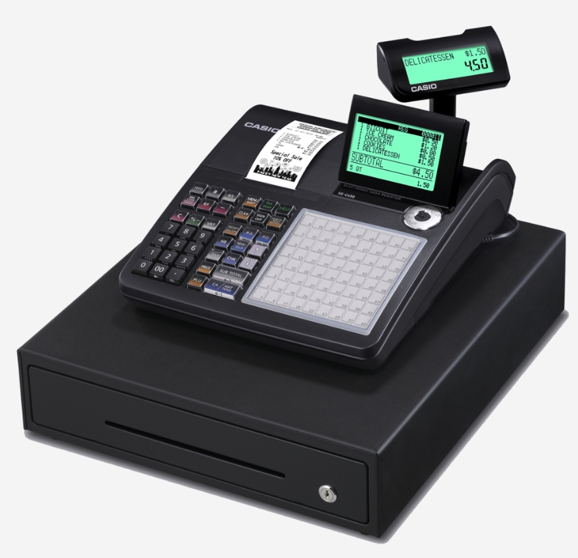 Casio SE-C450 Hospitality Cash Register