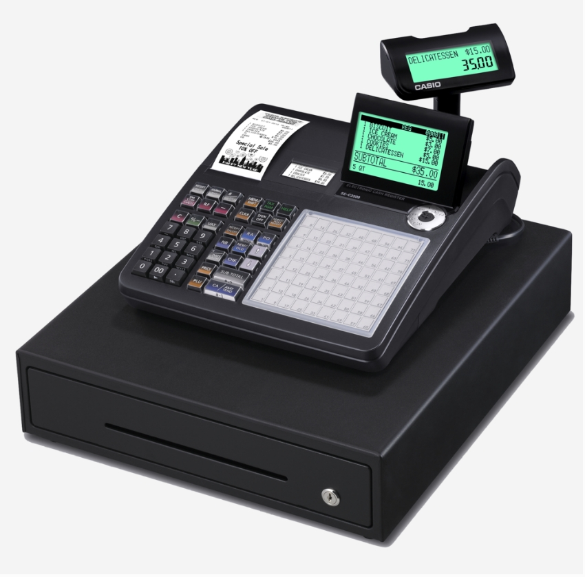 Casio SE-C3500 Hospitality Cash Register